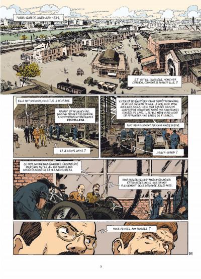 Page 1 le marin, l'actrice & la croisière jaune tome 3 - mauvaises rencontres