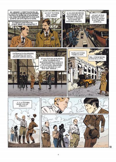 Page 2 le marin, l'actrice & la croisière jaune tome 3 - mauvaises rencontres