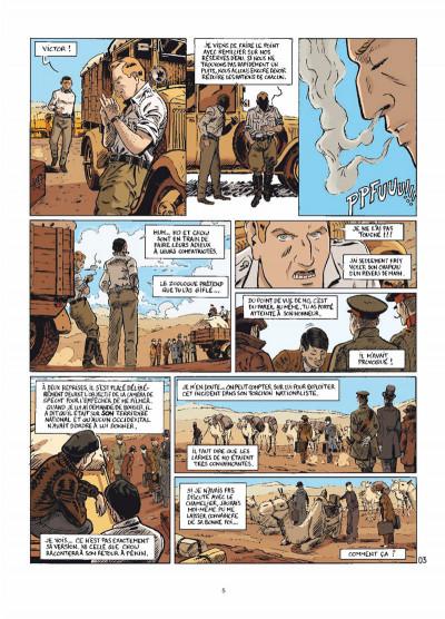 Page 3 le marin, l'actrice & la croisière jaune tome 3 - mauvaises rencontres