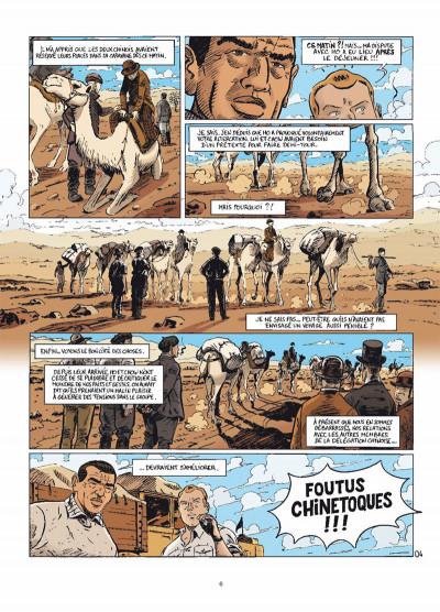 Page 4 le marin, l'actrice & la croisière jaune tome 3 - mauvaises rencontres