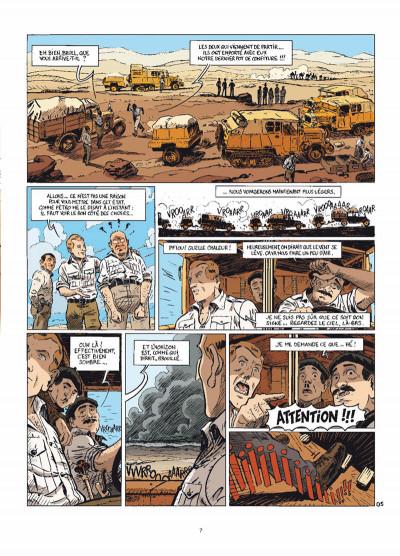 Page 5 le marin, l'actrice & la croisière jaune tome 3 - mauvaises rencontres