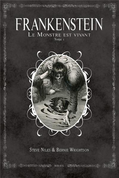 Couverture Frankenstein, le monstre est vivant tome 1
