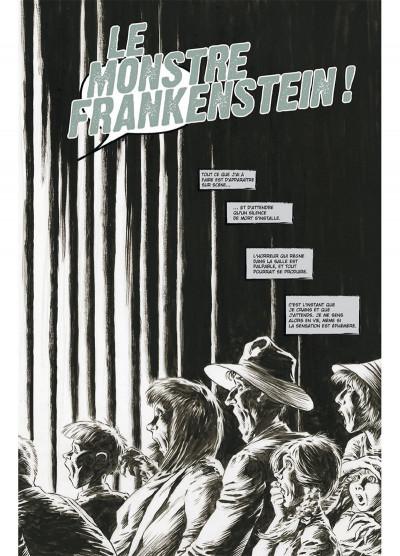 Page 3 Frankenstein, le monstre est vivant tome 1