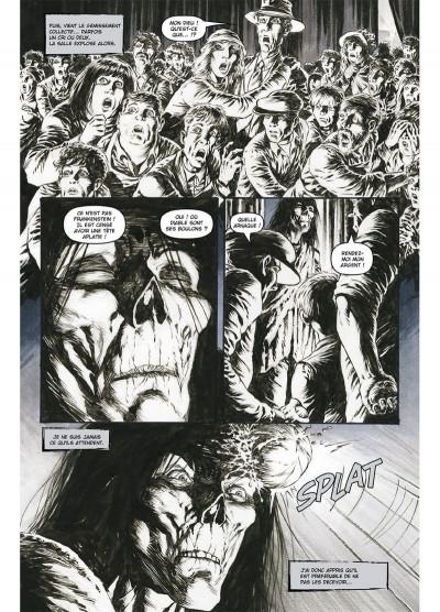 Page 4 Frankenstein, le monstre est vivant tome 1