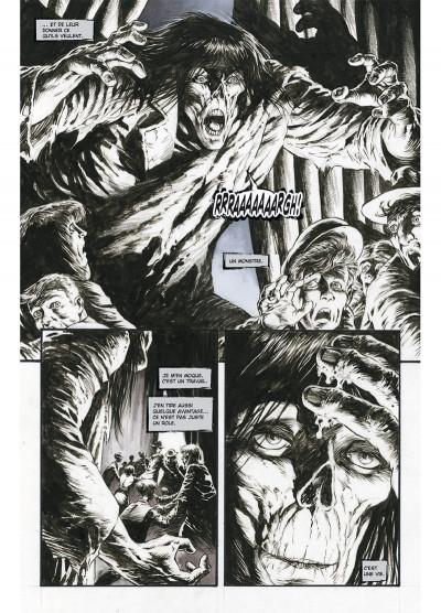 Page 5 Frankenstein, le monstre est vivant tome 1
