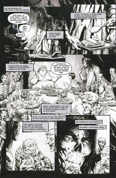 Page 6 Frankenstein, le monstre est vivant tome 1