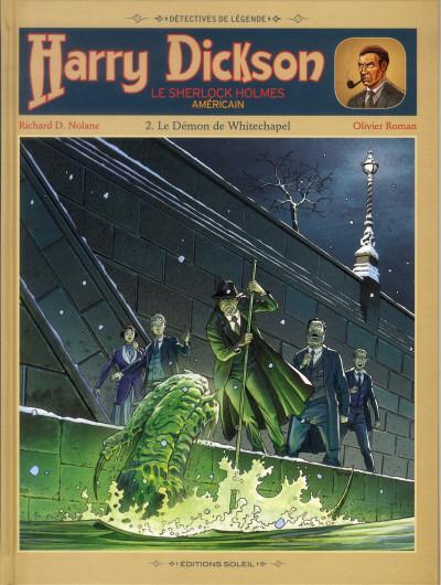 image de Harry Dickson tome 2 - le démon de Whitechapel