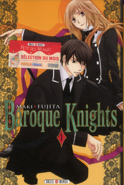 Couverture baroque knights tome 1
