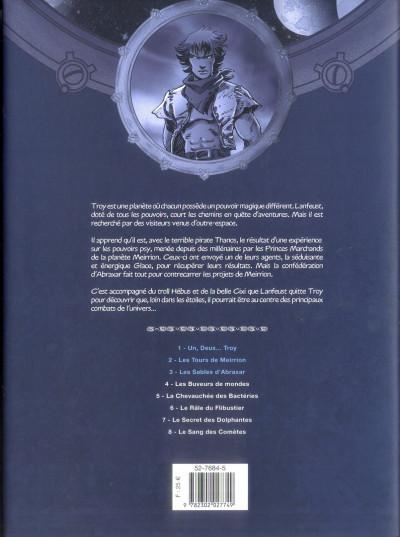 Dos Lanfeust des étoiles - intégrale tome 1 à tome 3