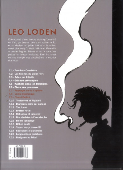 Dos Léo Loden - intégrale tome 3 - tome 7 à tome 9