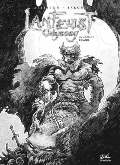 Couverture Lanfeust odyssey tome 4 - édition luxe