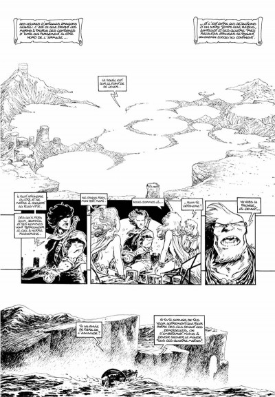 Page 1 Lanfeust odyssey tome 4 - édition luxe