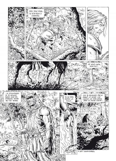 Page 2 légende tome 6 - le secret des Eïles