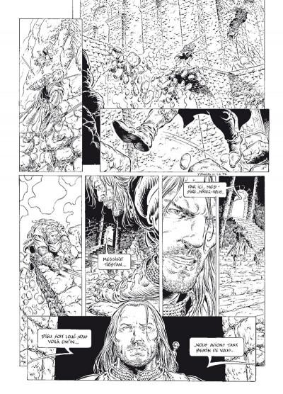 Page 6 légende tome 6 - le secret des Eïles