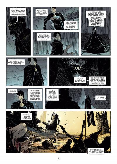 Page 0 l'ombre blanche tome 1 - la traque du Sans-nom