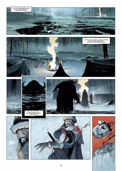 Page 4 l'ombre blanche tome 1 - la traque du Sans-nom