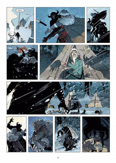 Page 5 l'ombre blanche tome 1 - la traque du Sans-nom