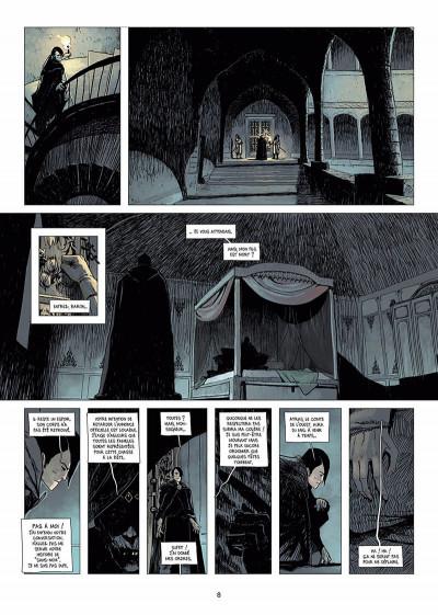 Page 9 l'ombre blanche tome 1 - la traque du Sans-nom