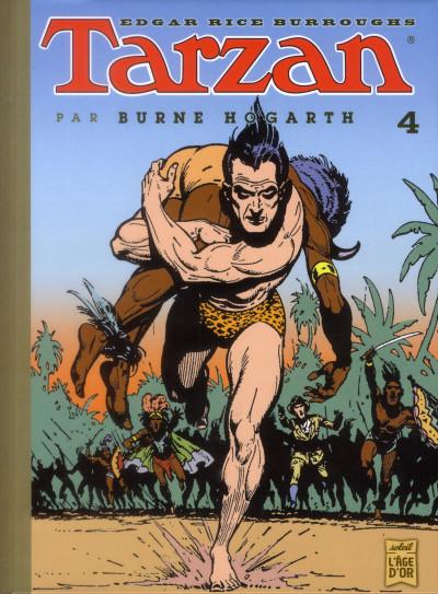 Couverture Tarzan tome 4