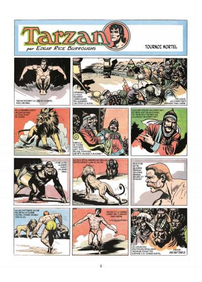 Page 3 Tarzan tome 4
