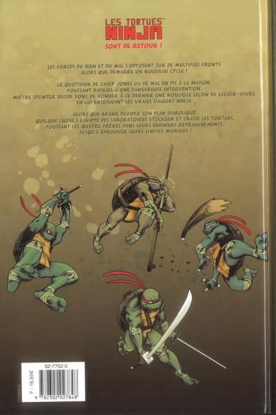Dos Les tortues Ninja tome 4 - les péchés du père