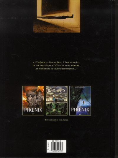 Dos Phoenix tome 3 - Naufragés