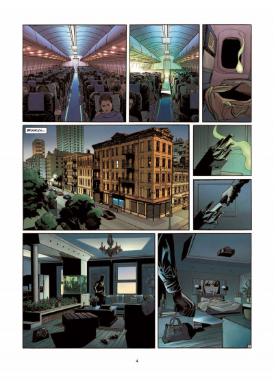 Page 2 Phoenix tome 3 - Naufragés