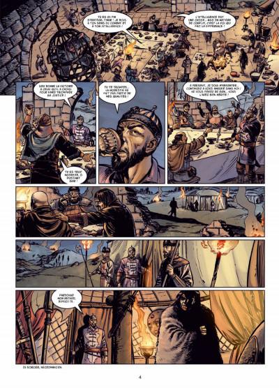 Page 2 l'apogée des dragons tome 2 - le calice de Thulé