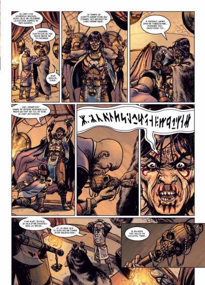 Page 3 l'apogée des dragons tome 2 - le calice de Thulé