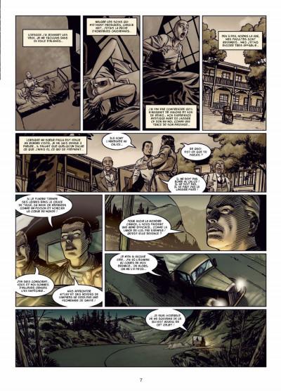 Page 5 l'apogée des dragons tome 2 - le calice de Thulé