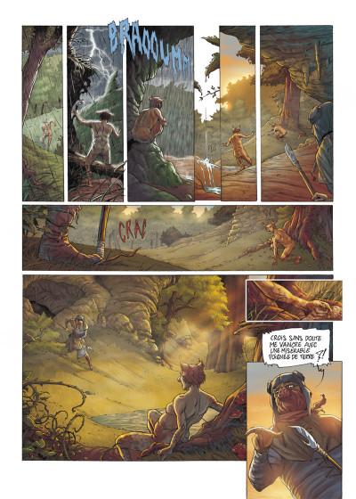 Page 1 Les fables de l'Humpur tome 1 - les clans de la Dorgne