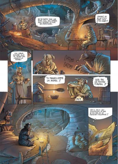 Page 3 Les fables de l'Humpur tome 1 - les clans de la Dorgne