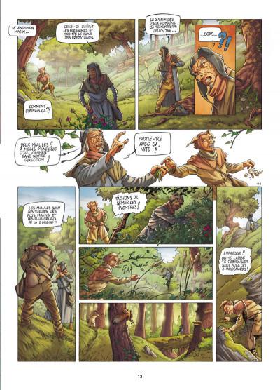 Page 4 Les fables de l'Humpur tome 1 - les clans de la Dorgne