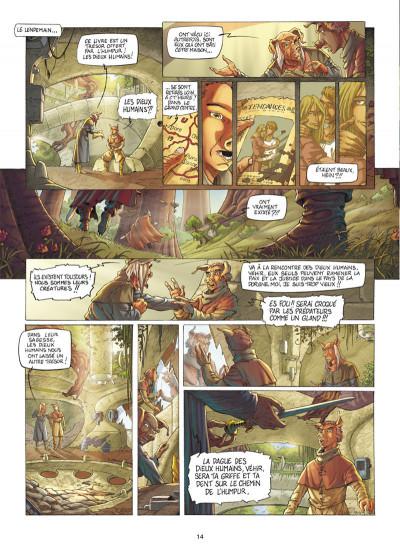 Page 5 Les fables de l'Humpur tome 1 - les clans de la Dorgne
