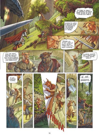 Page 6 Les fables de l'Humpur tome 1 - les clans de la Dorgne