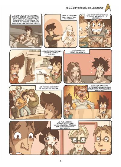 Page 1 les geeks tome 9 - la communauté du nano