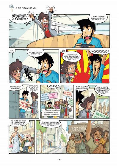Page 6 les geeks tome 9 - la communauté du nano