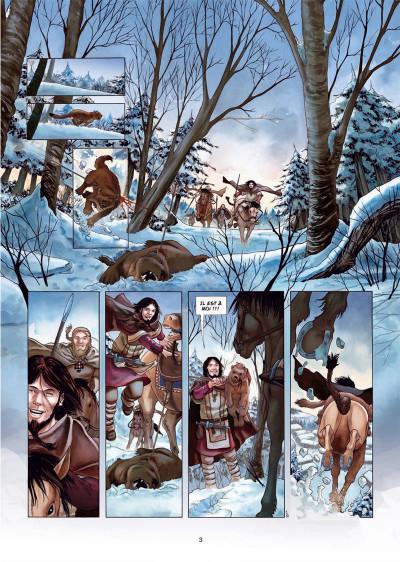 Page 1 Erik le Rouge tome 1 - le trésor du Vinland