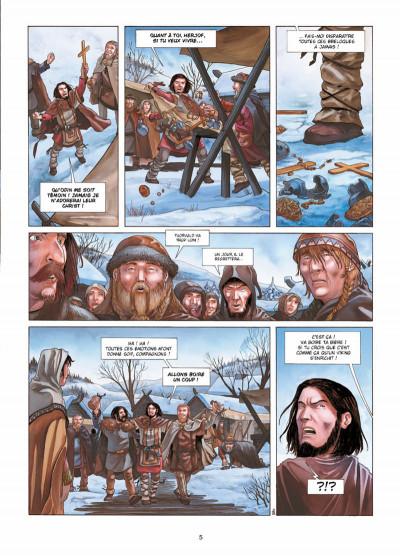 Page 3 Erik le Rouge tome 1 - le trésor du Vinland