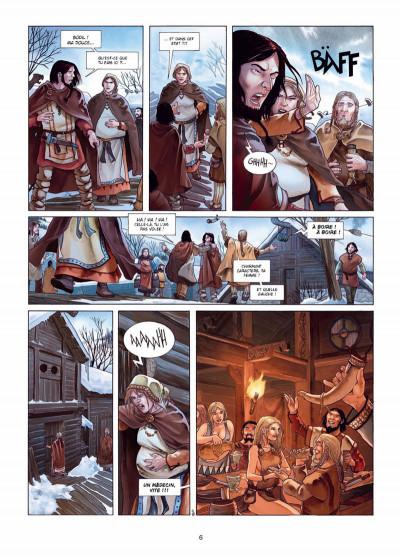 Page 4 Erik le Rouge tome 1 - le trésor du Vinland
