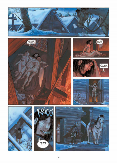 Page 6 Erik le Rouge tome 1 - le trésor du Vinland