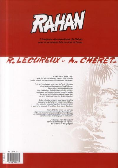Dos Rahan - intégrale noir et blanc tome 9