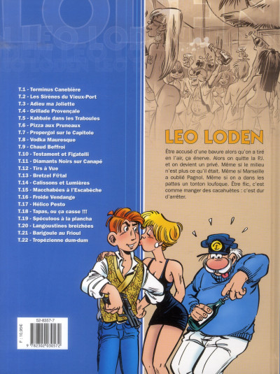 Dos Léo Loden tome 22 - tropézienne dum dum