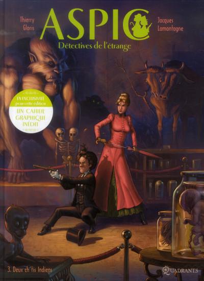 Couverture Aspic, détectives de l'étrange tome 3