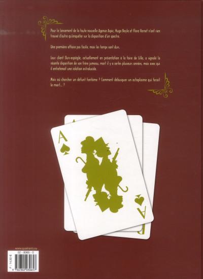 Dos Aspic, détectives de l'étrange tome 3