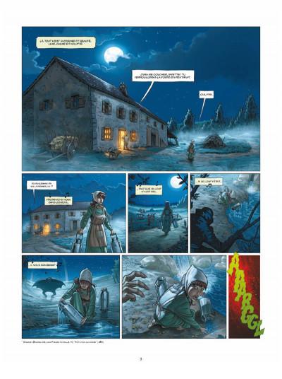 Page 1 Aspic, détectives de l'étrange tome 3