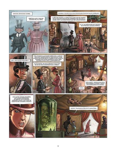Page 3 Aspic, détectives de l'étrange tome 3