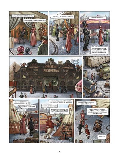 Page 4 Aspic, détectives de l'étrange tome 3