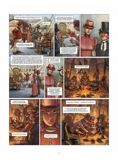 Page 5 Aspic, détectives de l'étrange tome 3