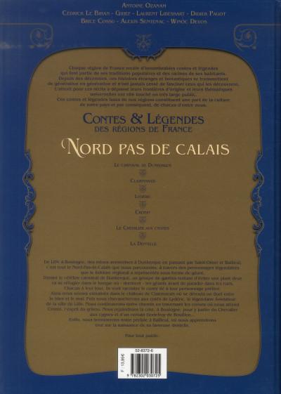 Dos Contes et légendes des régions de France tome 3 - Nord Pas-de-Calais